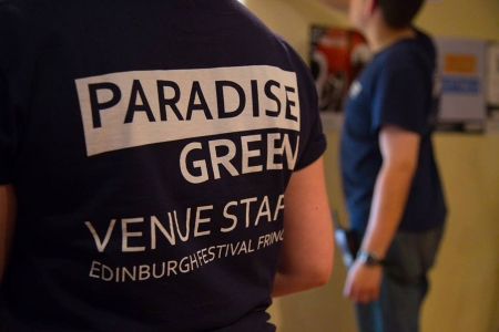 Our Staff at the Edinburgh Festival Fringe