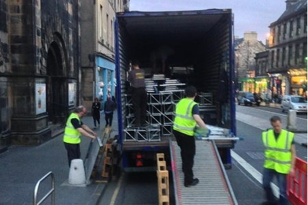 Technical Roles at Edinburgh Festival Fringe with Paradise Green