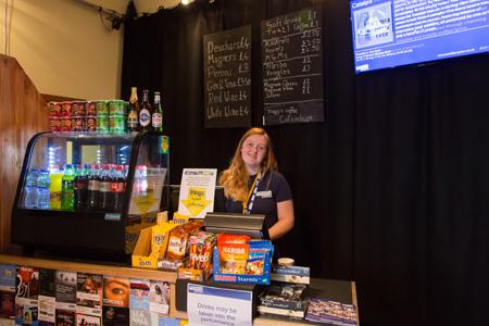 Volunteers at the Edinburgh Festival Fringe with Paradise Green